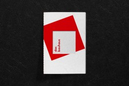 bauhaus typografie broschüre