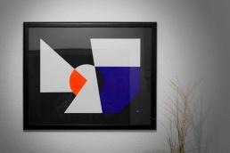 abstraktes acryl gemälde von johannes lieven