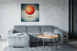 johannes lieven abstrakte kunst an wand