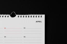 typografischer kalender