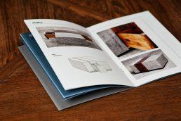 illustration und gestaltung design möbel broschüre