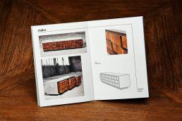 broschüre design möbel