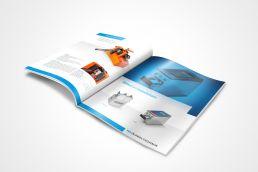 Firmenbroschüre Design Industrie